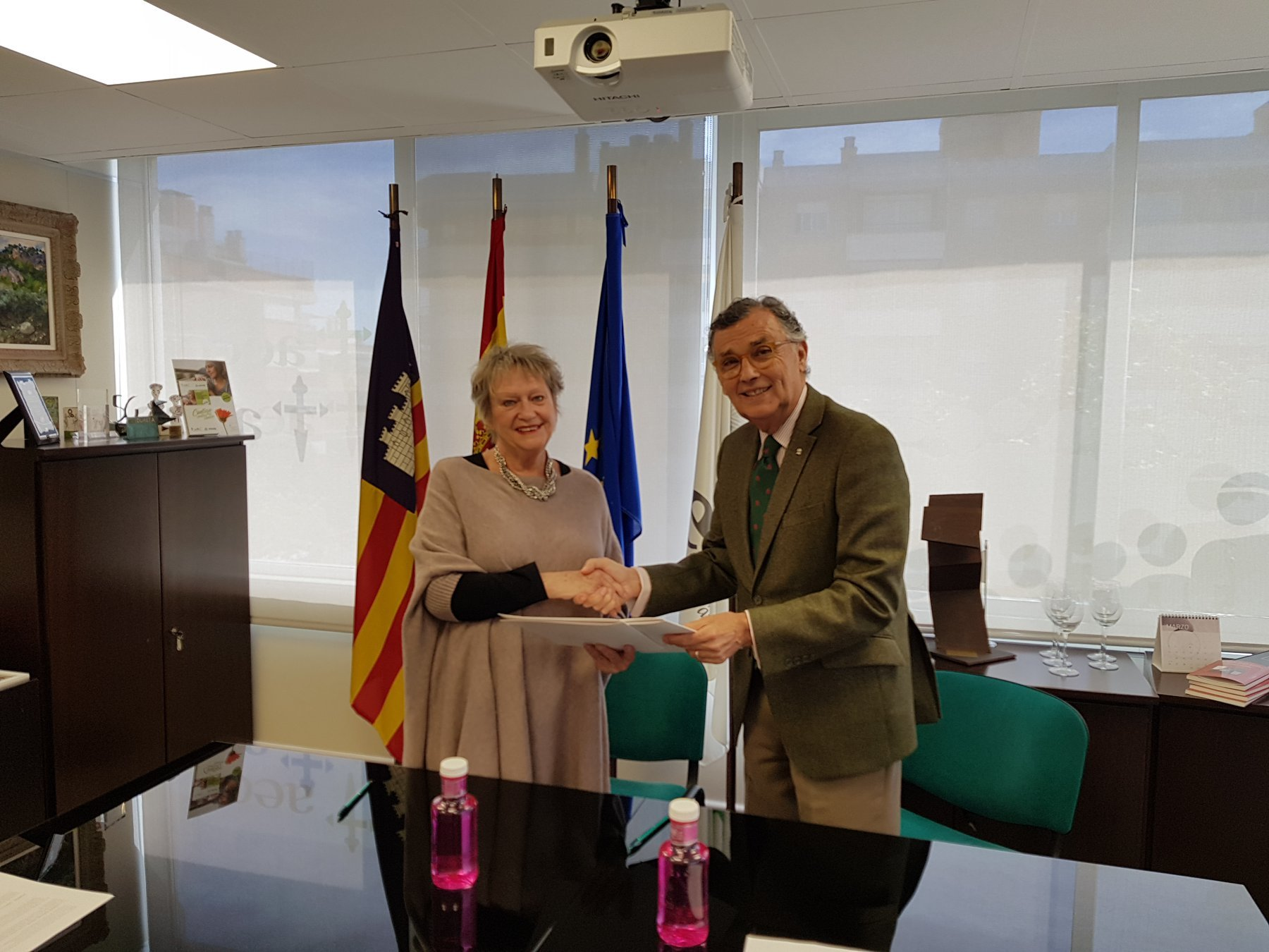 Agreement with AECC