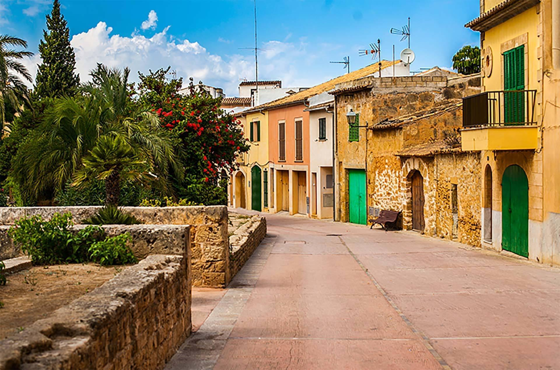 Alcudia Old Town Street