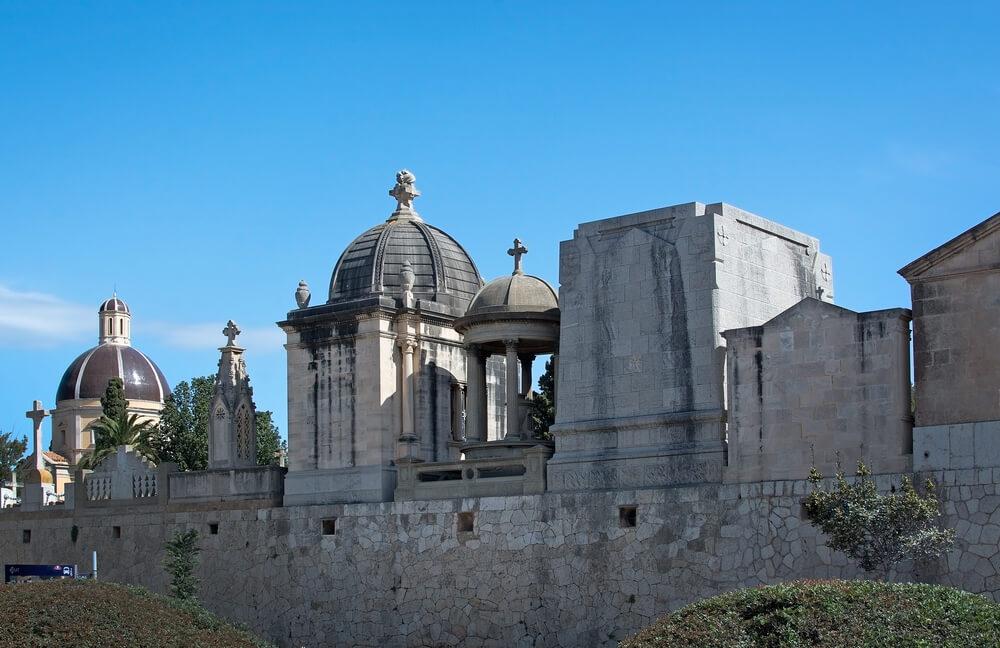 Cemetery in Palma