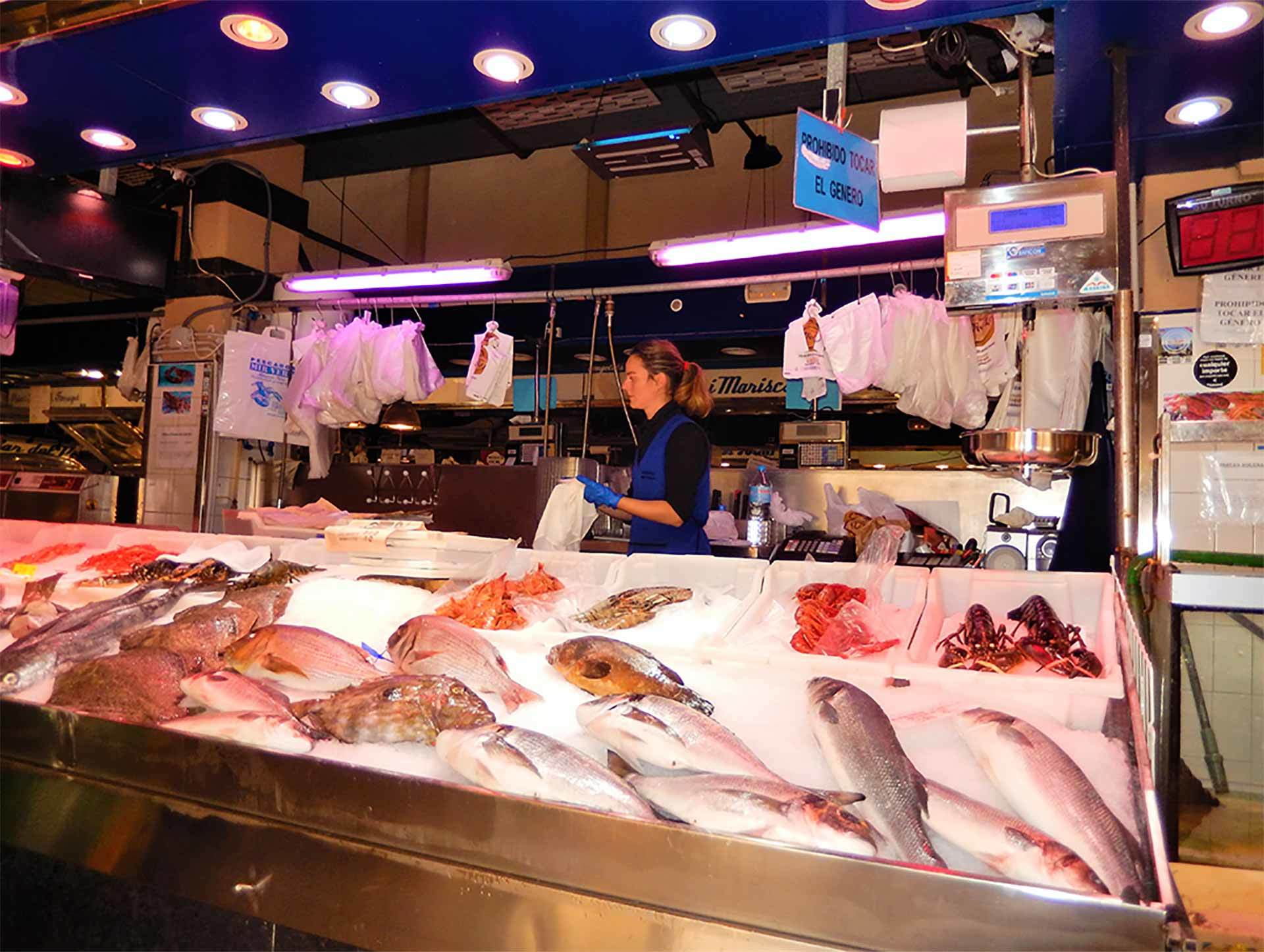 L Olivar Fish Market Palma