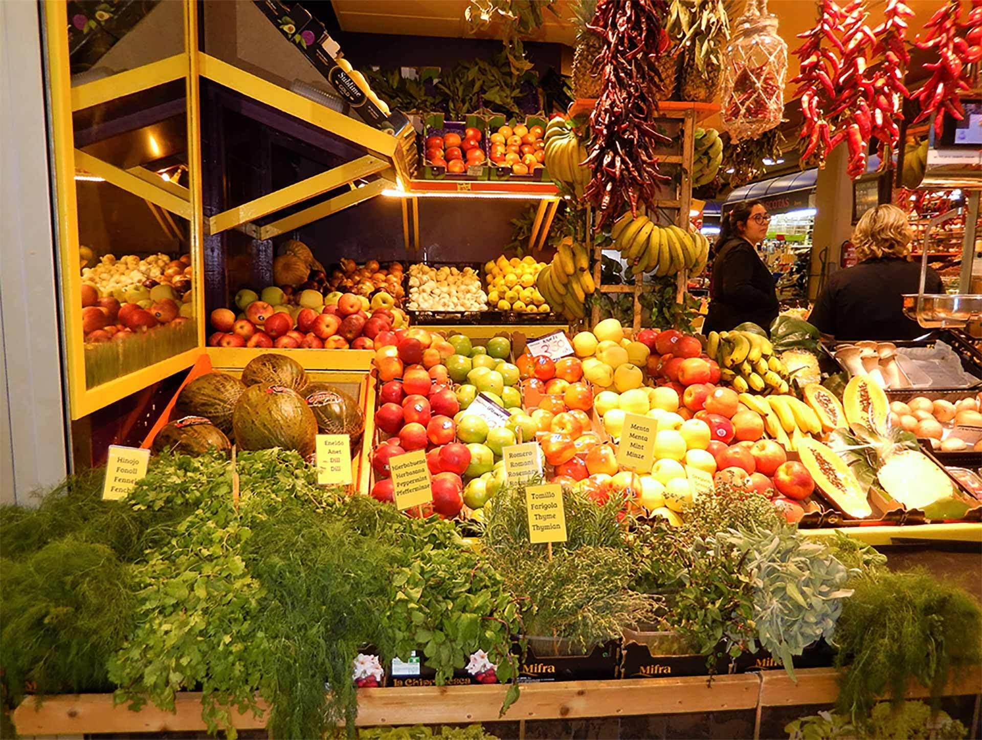 L Olivar Market Stall Palma