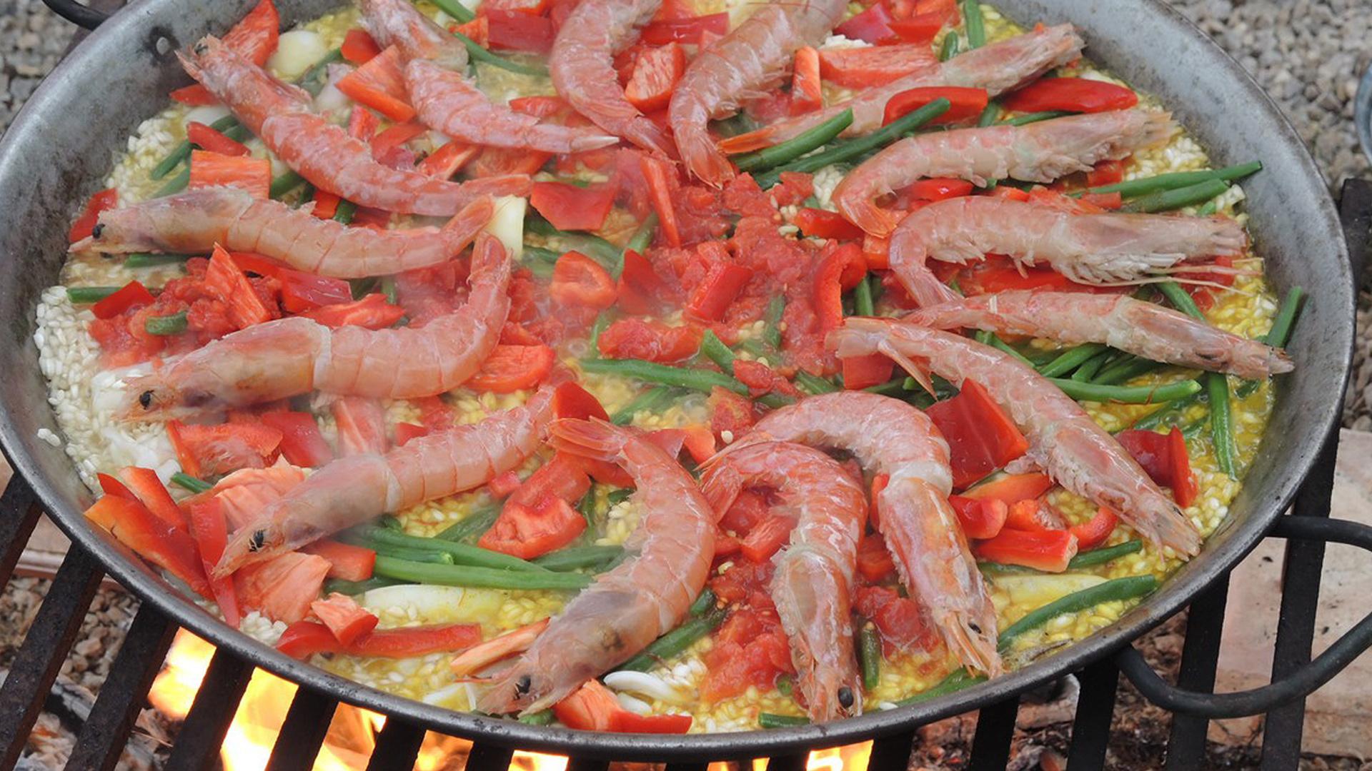 Paella Party Shrimps