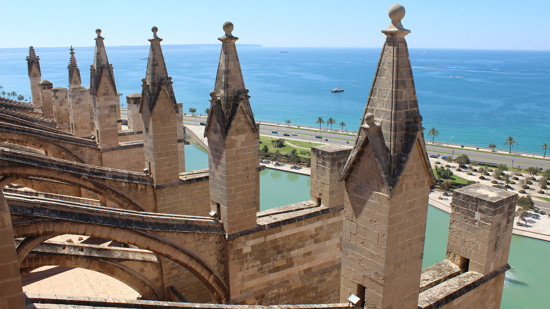 Palma Cathedral Rooftop Adele Chretien Yello There Photography 12