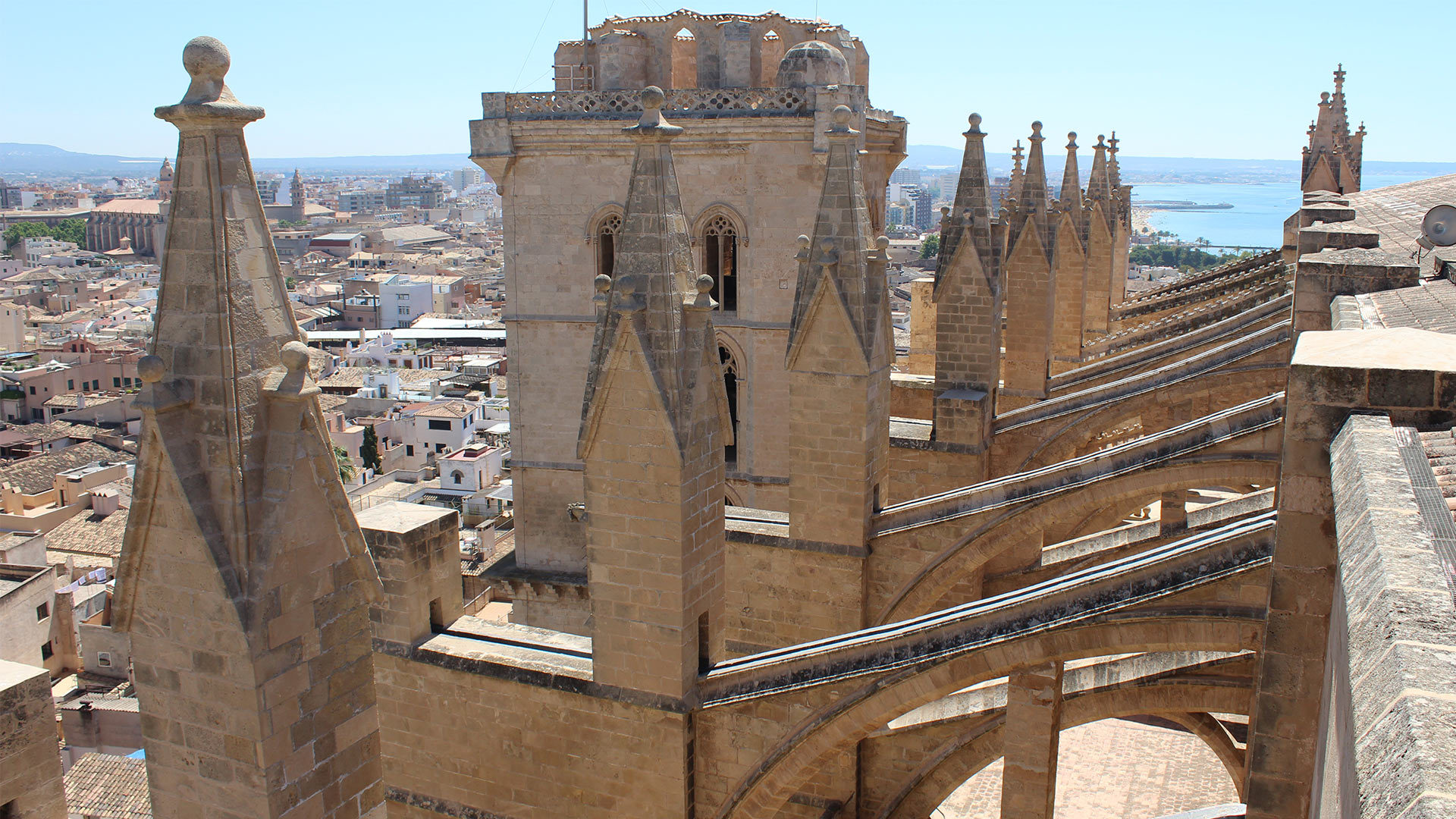 Palma Cathedral Rooftop Adele Chretien Yello There Photography 13