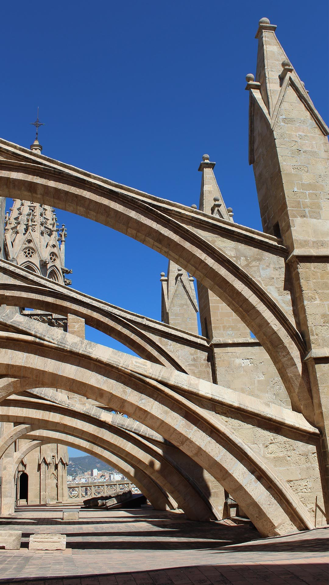 Palma Cathedral Rooftop Adele Chretien Yello There Photography 2