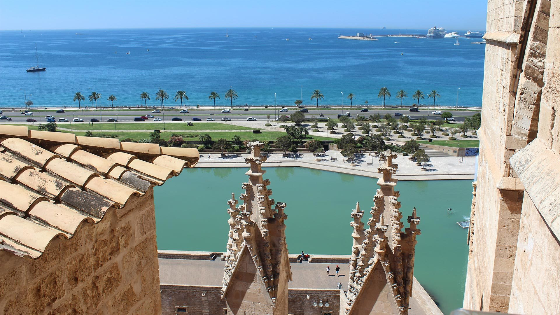 Palma Cathedral Rooftop Adele Chretien Yello There Photography 8