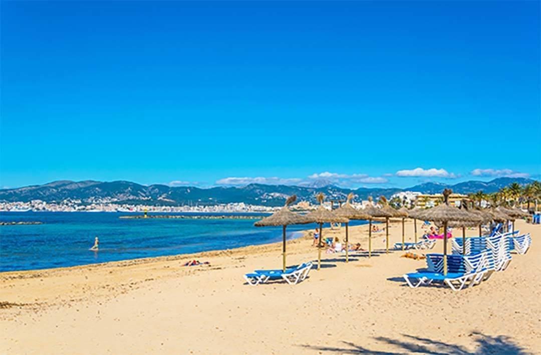 Playa Es Col Den Rebasa Palma Mallorca Beach