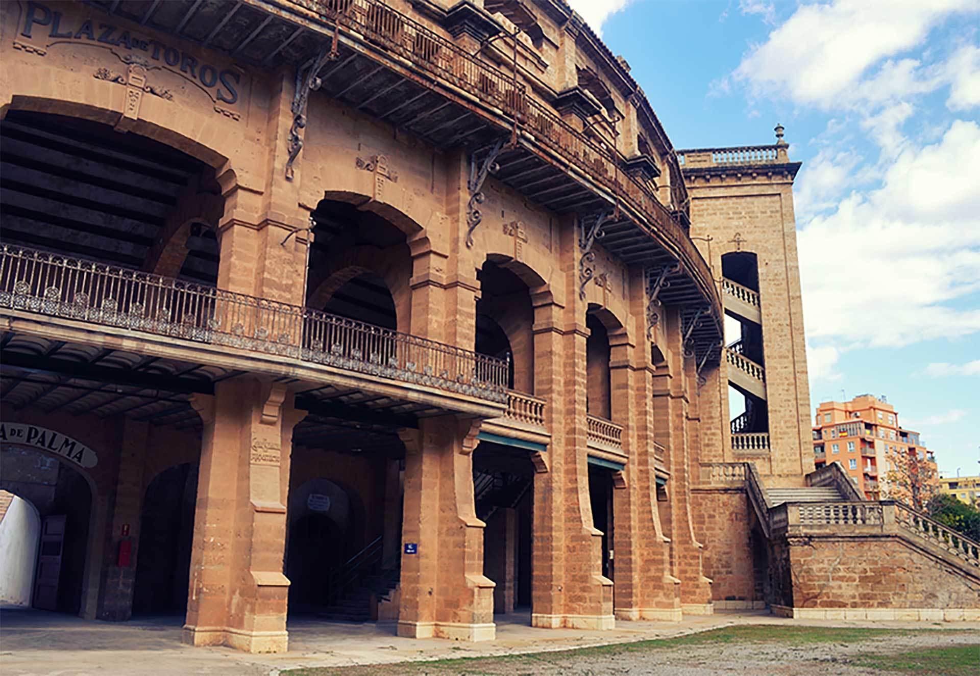 Plaza De Toros Palma Side View