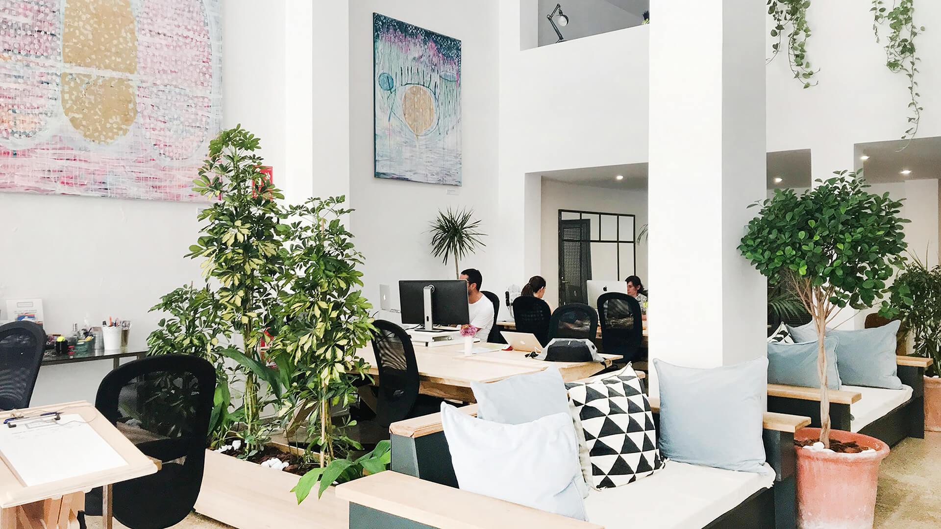 The Hub Mallorca coworking santa catalina palma