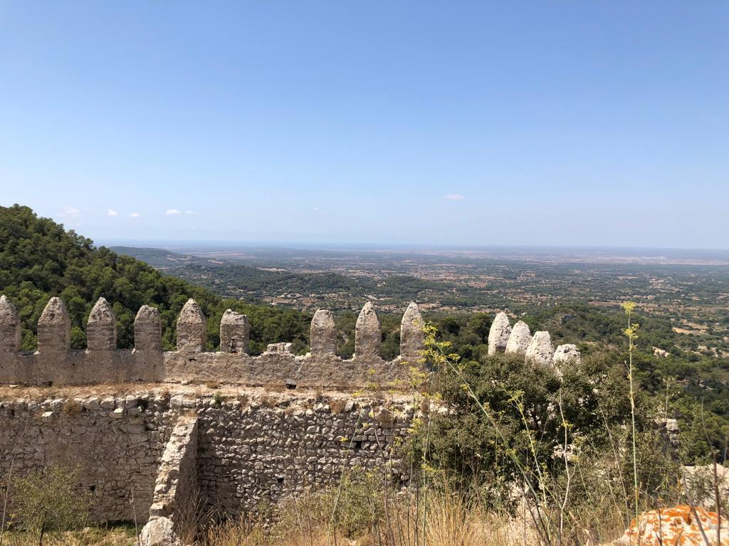 View off Castillo