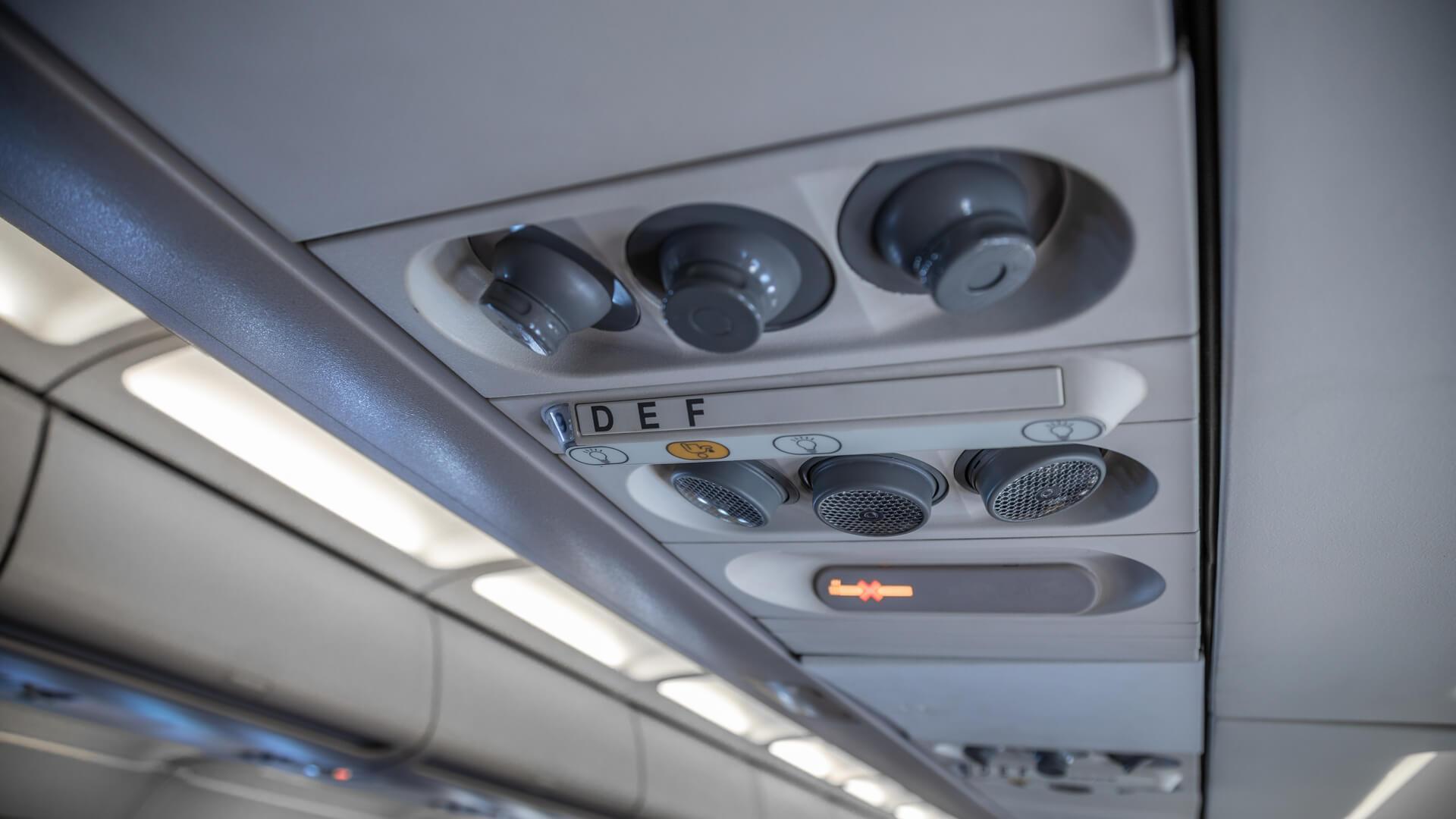 Airline ventilation system 1