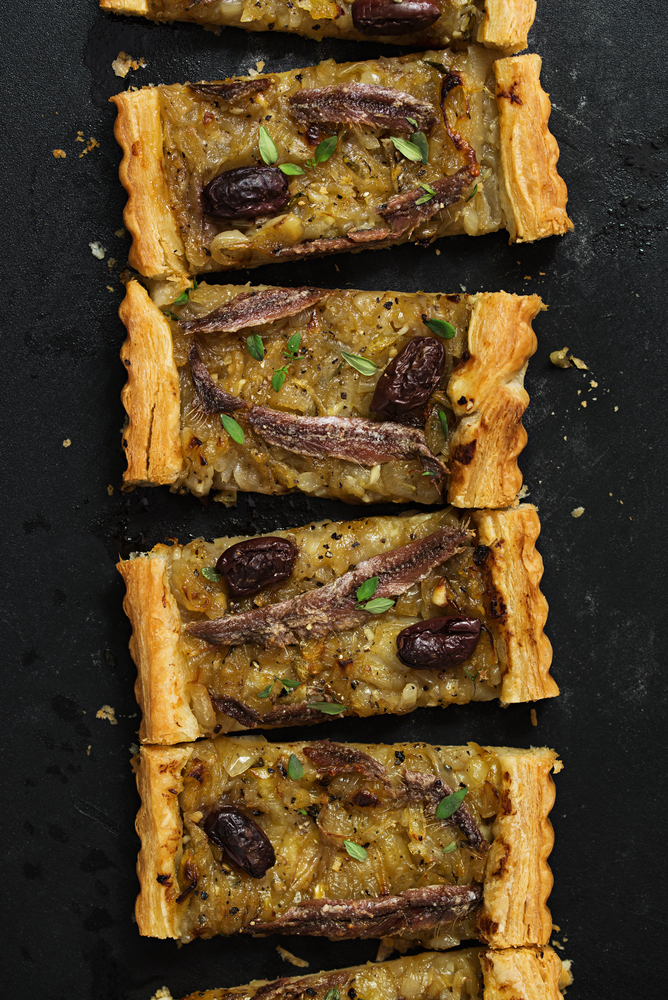 Anchovie tart