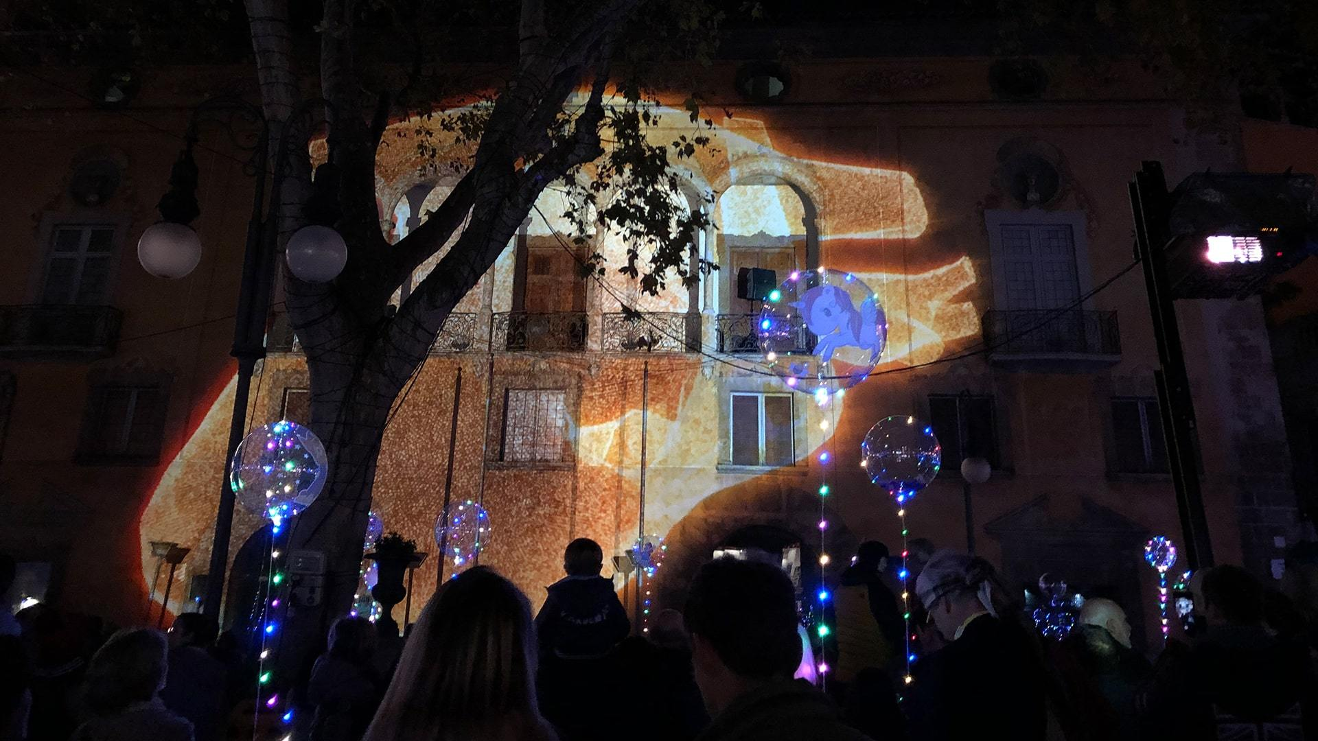 Christmas lights opening ceremony palma de mallorca min