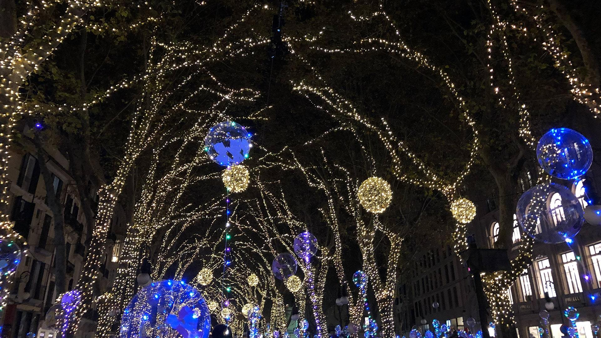 Christmas lights opening night palma de mallorca min