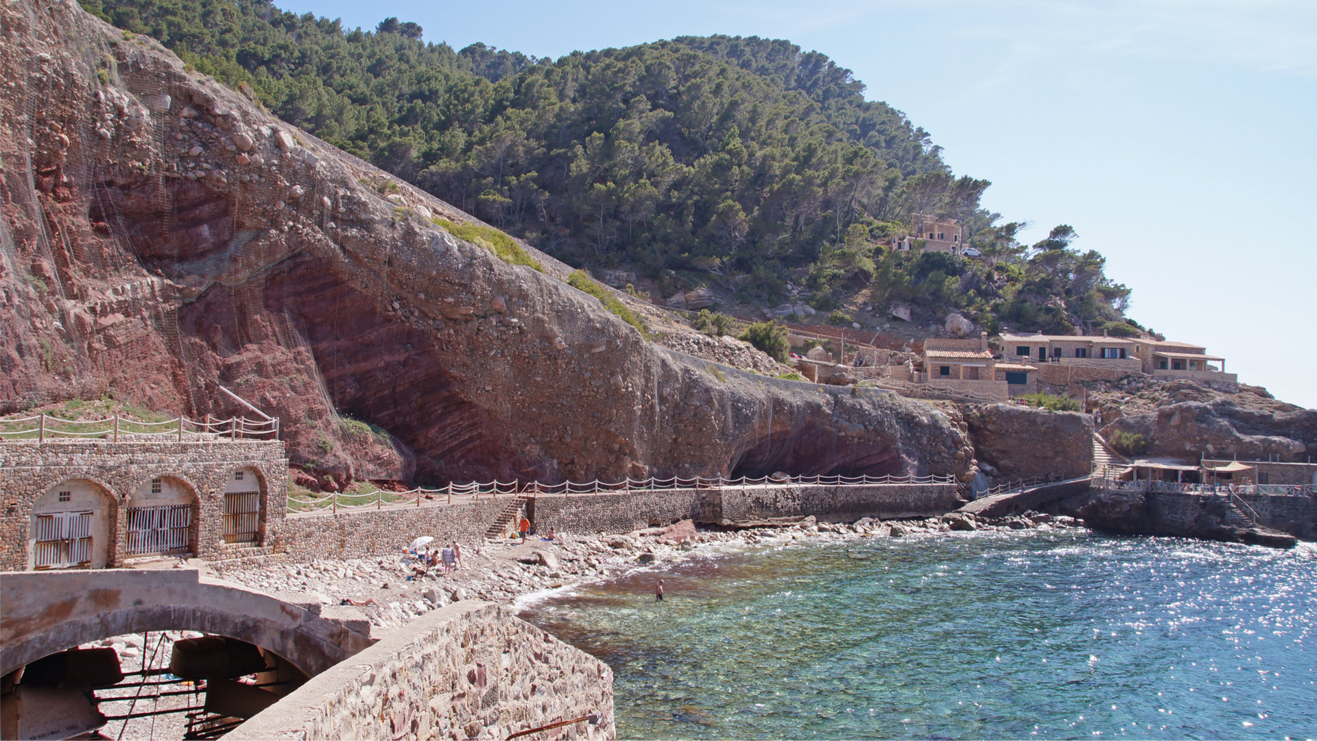 Estellencs rock beach