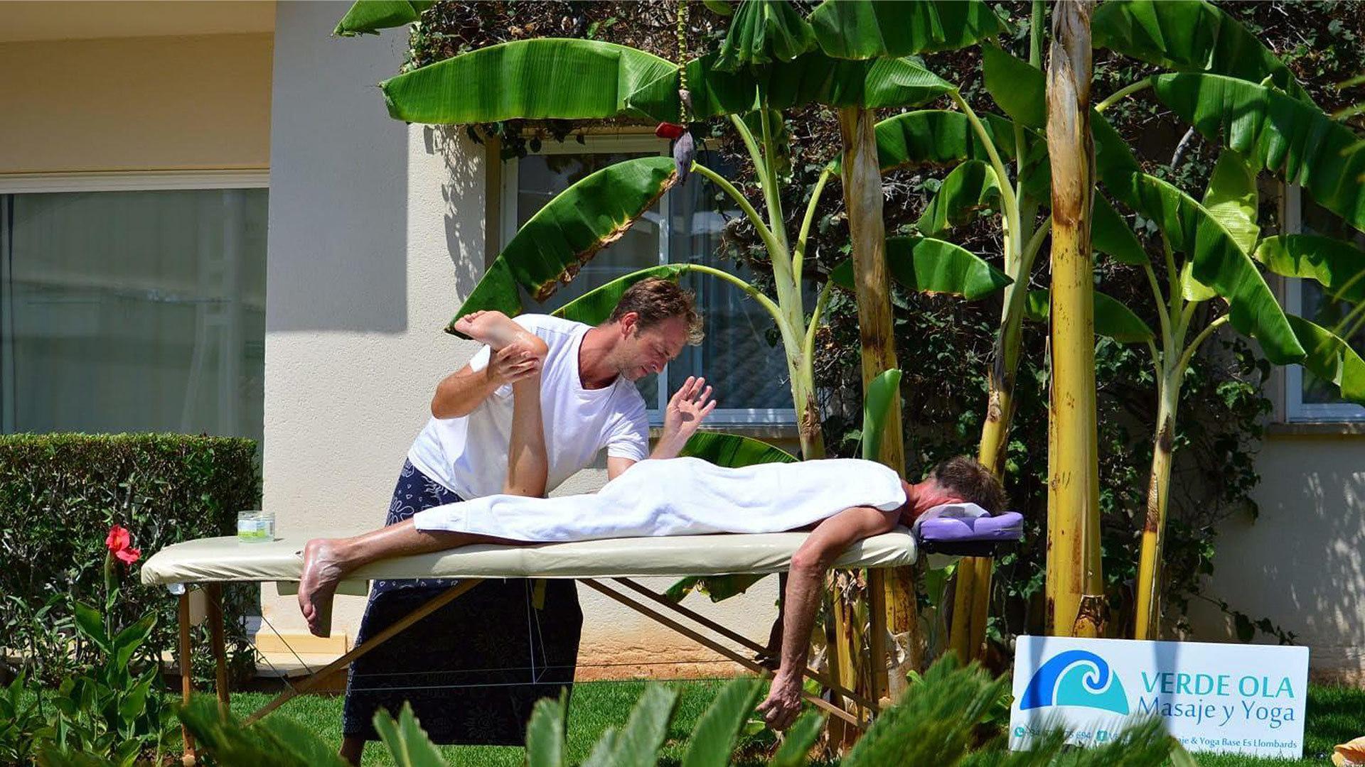 Mallorca camper van massage