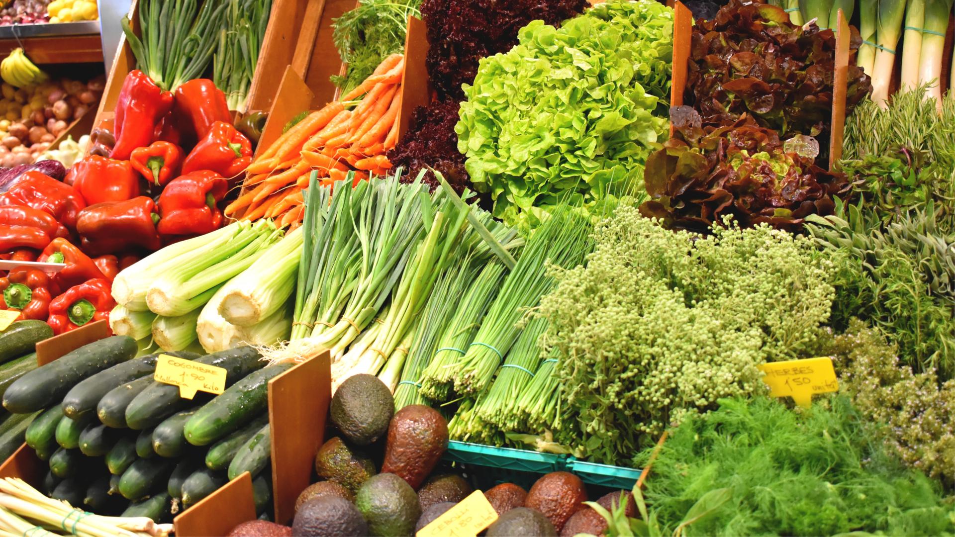 Market palma organic food